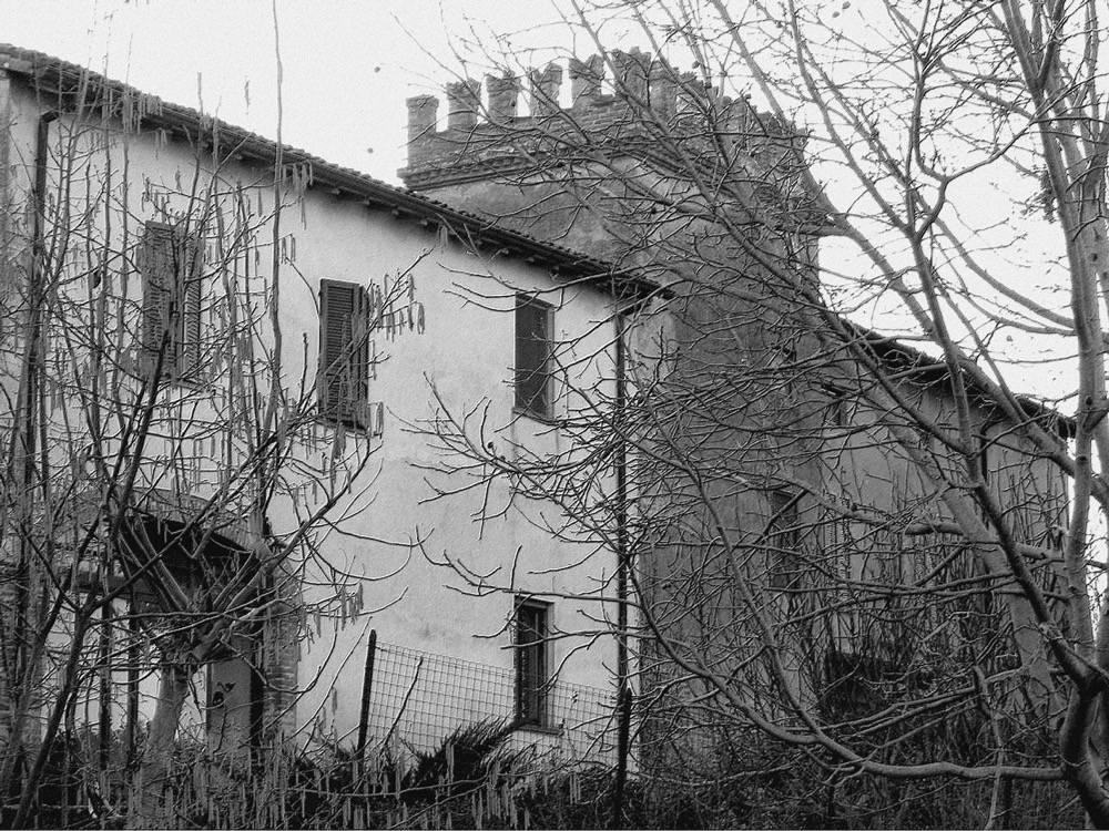 La Rocca - foto bianco e nero