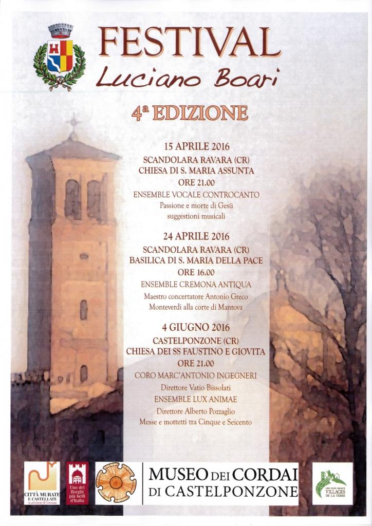 Festival Luciano Boari 2016