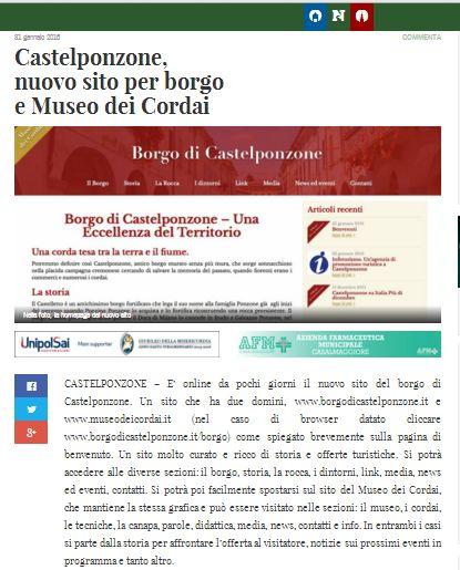 OglioPoNews del 31 gennaio 2016
